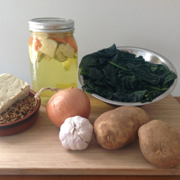 Image_Une__Spinach soup recipe